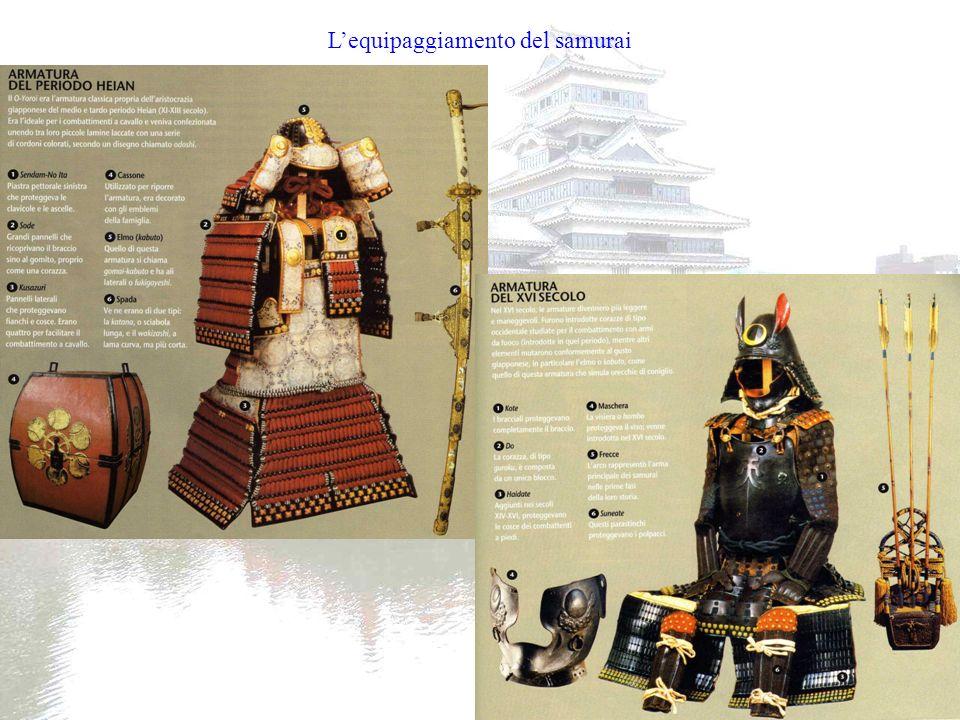 L'equipaggiamento del samurai