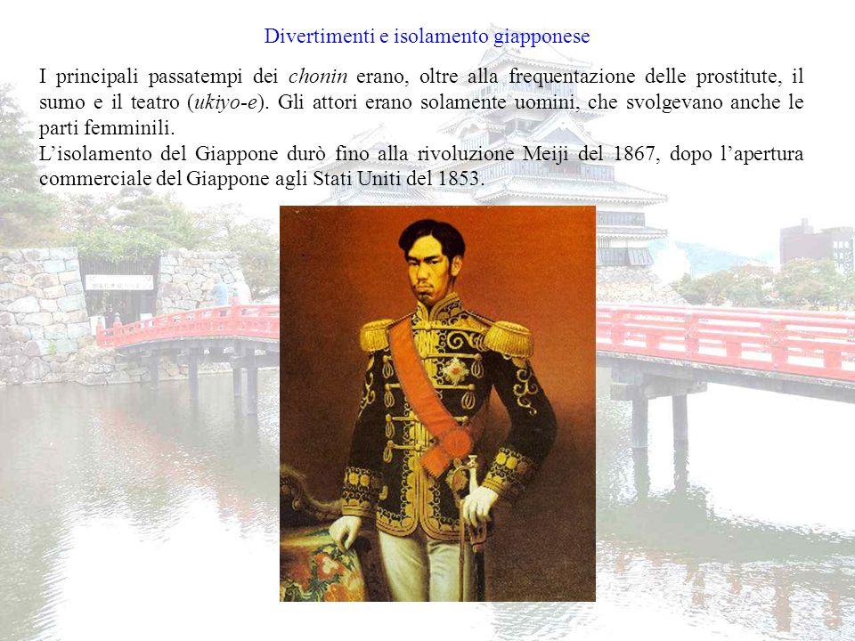 Divertimenti e isolamento giapponese