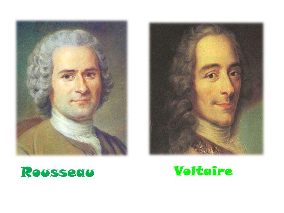 Rousseau Voltaire