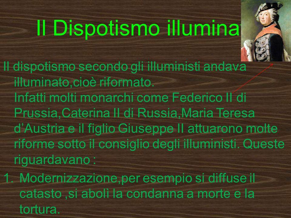 Il Dispotismo illuminato