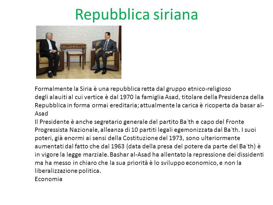 Repubblica siriana