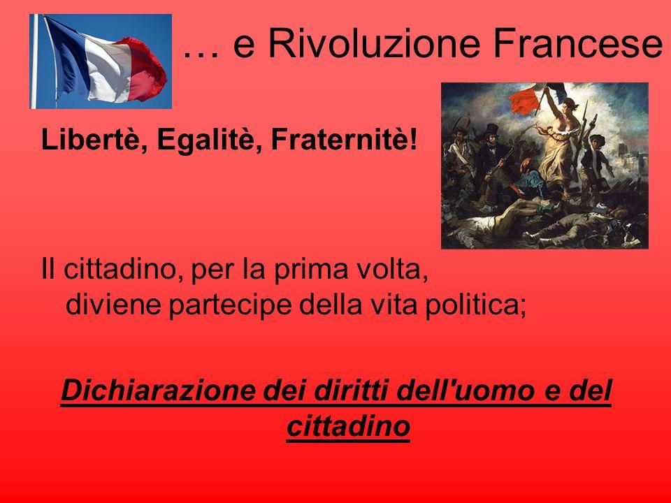 … e Rivoluzione Francese