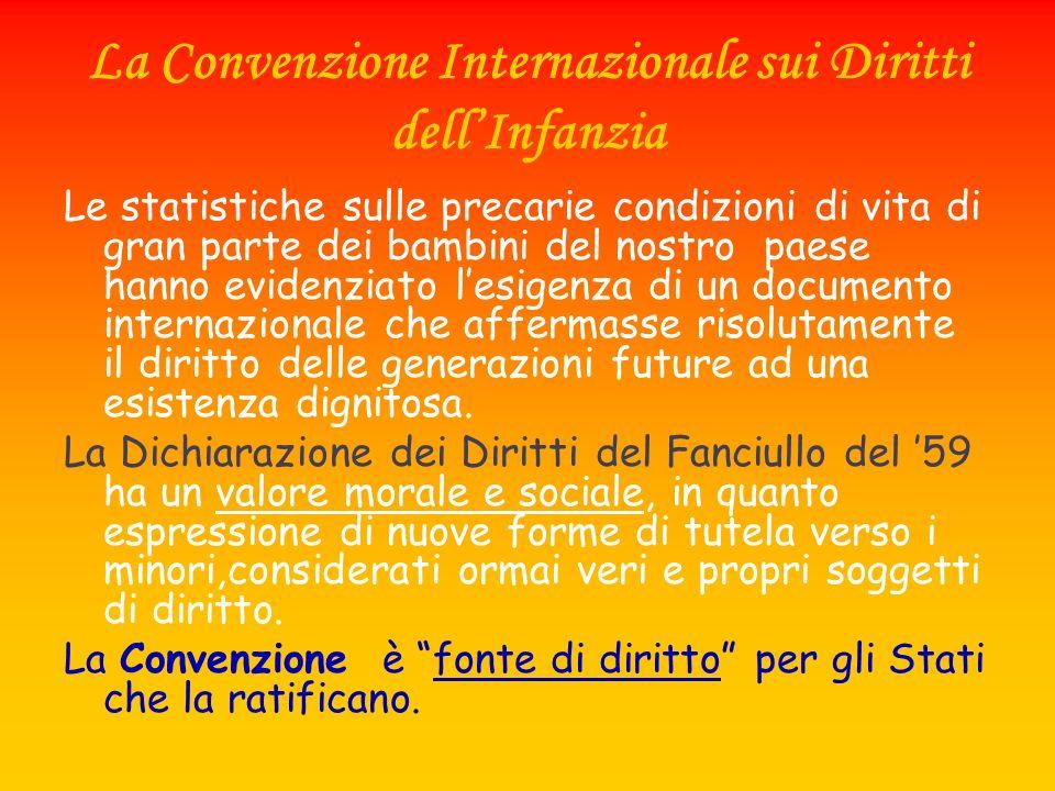 La Convenzione Internazionale sui Diritti dell'Infanzia