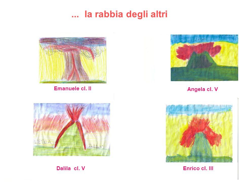 ... la rabbia degli altri Emanuele cl. II Angela cl. V Dalila cl. V