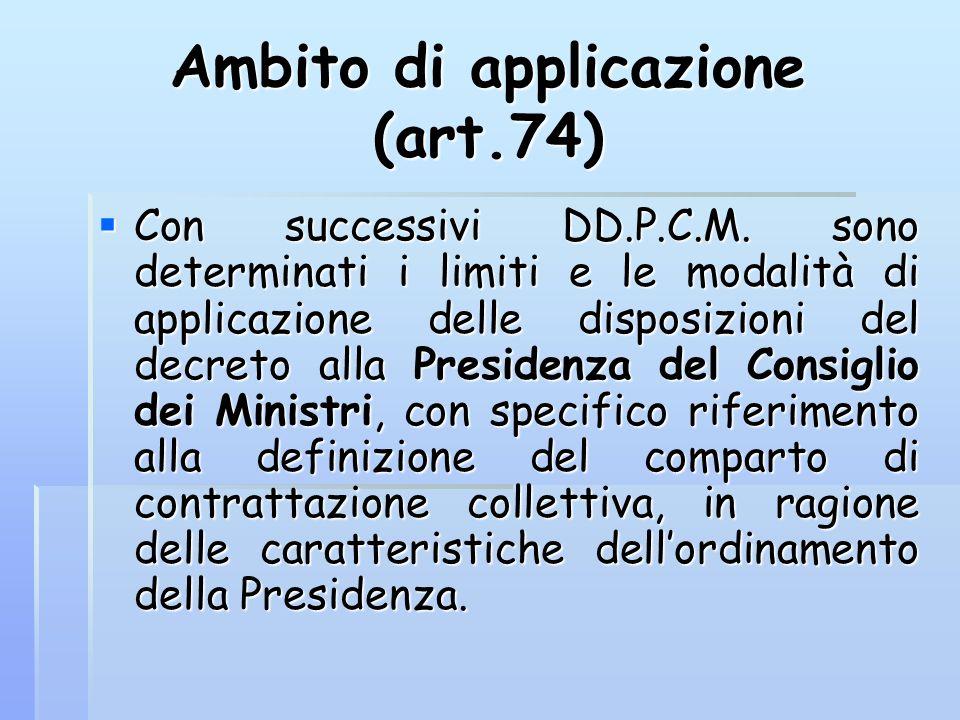 Ambito di applicazione (art.74)