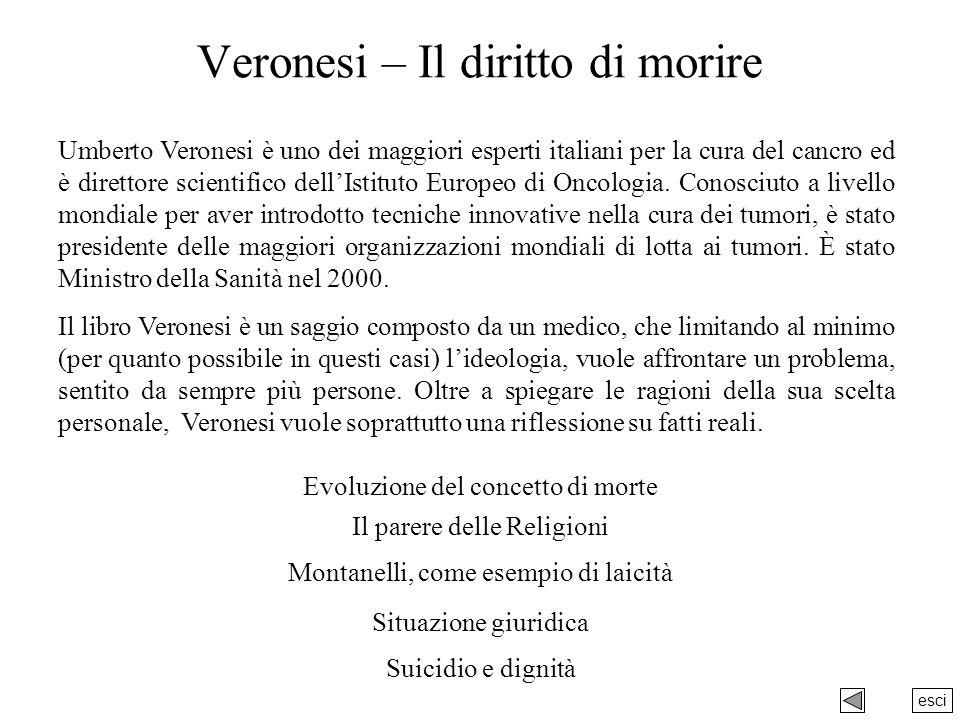 Veronesi – Il diritto di morire