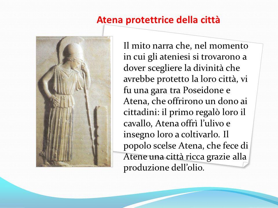Atena protettrice della città