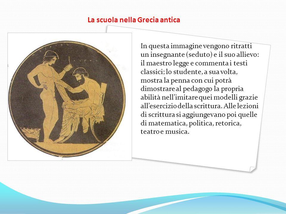 La scuola nella Grecia antica