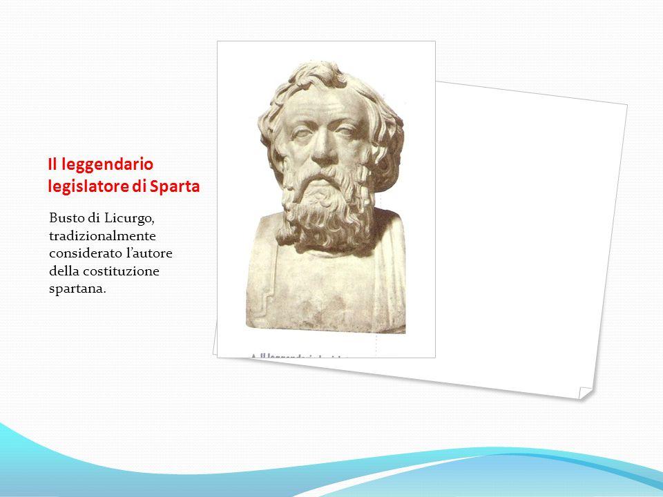 Il leggendario legislatore di Sparta
