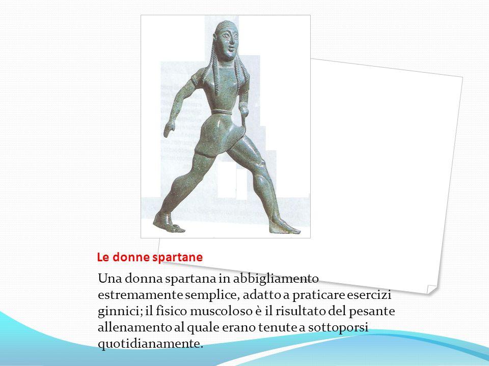 Le donne spartane