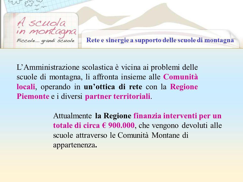 Rete e sinergie a supporto delle scuole di montagna