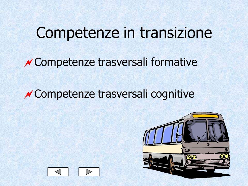 Competenze in transizione