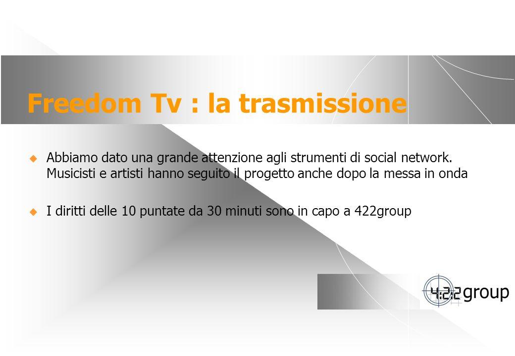 Freedom Tv : la trasmissione