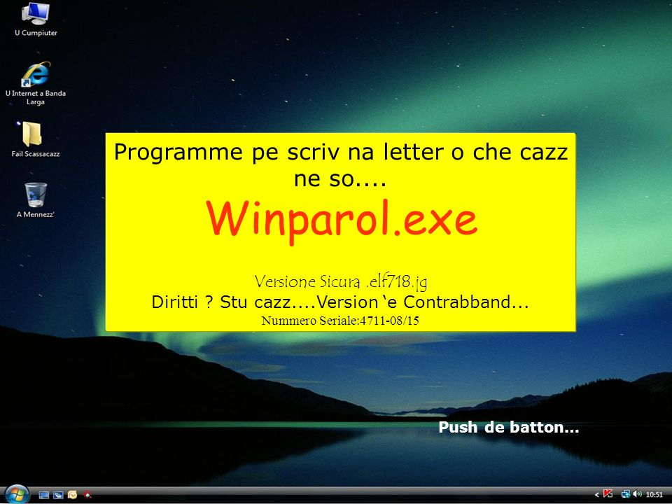 Winparol.exe Programme pe scriv na letter o che cazz ne so....