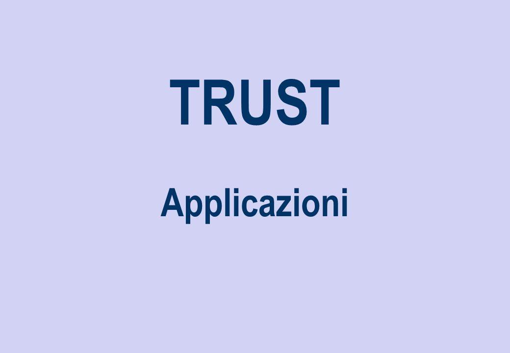 TRUST Applicazioni