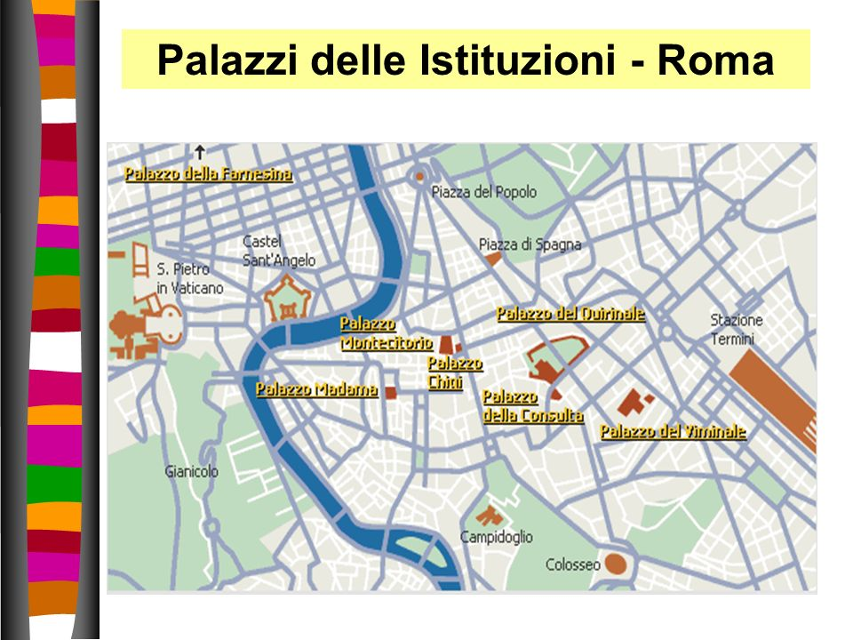 Palazzi delle Istituzioni - Roma