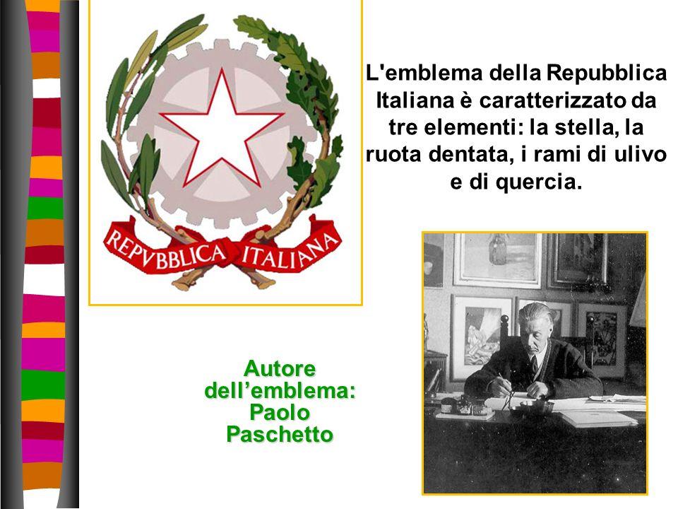 Autore dell'emblema: Paolo Paschetto