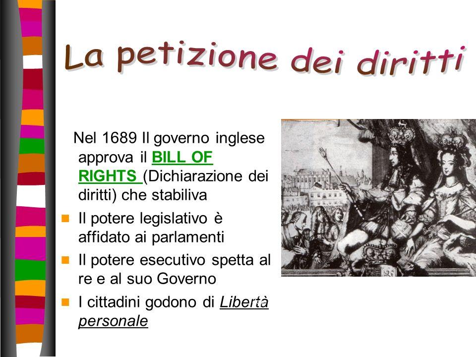 La petizione dei diritti