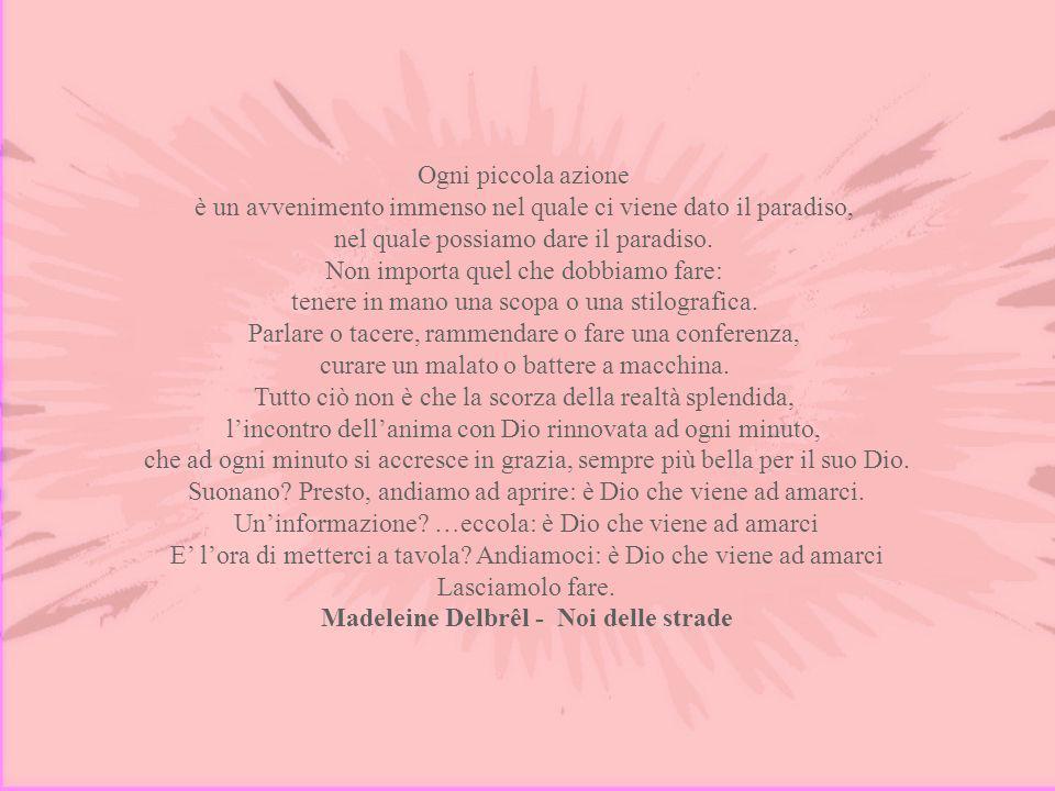 Madeleine Delbrêl - Noi delle strade