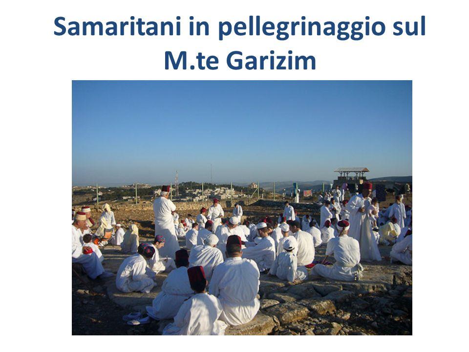 Samaritani in pellegrinaggio sul M.te Garizim
