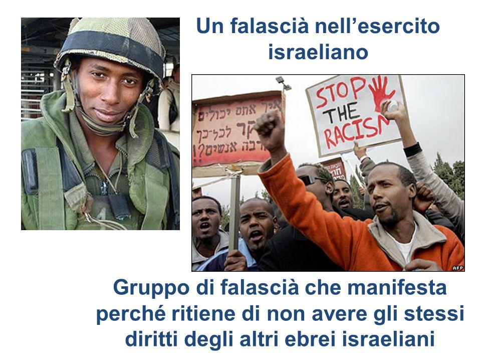 Un falascià nell'esercito israeliano