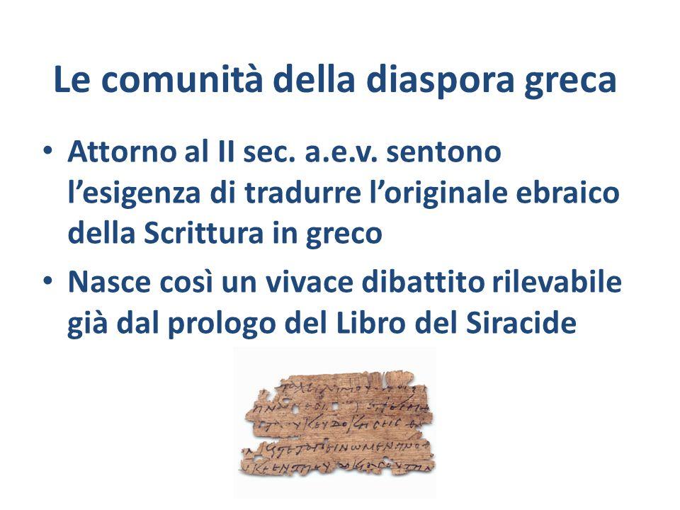 Le comunità della diaspora greca