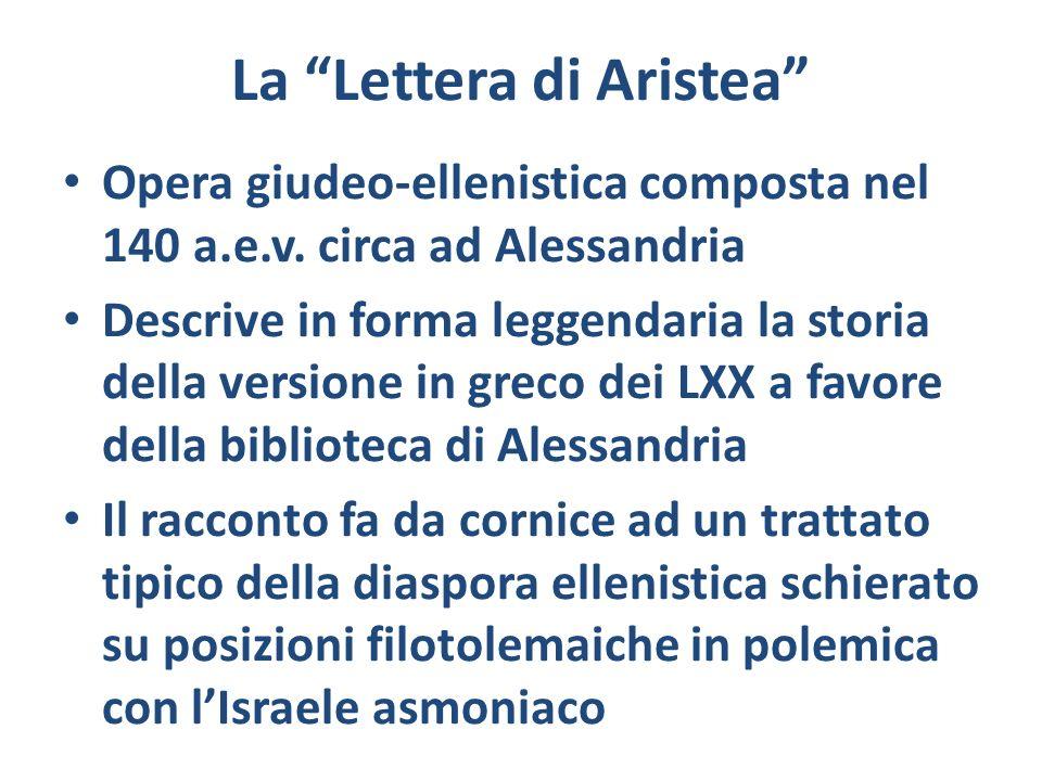 La Lettera di Aristea