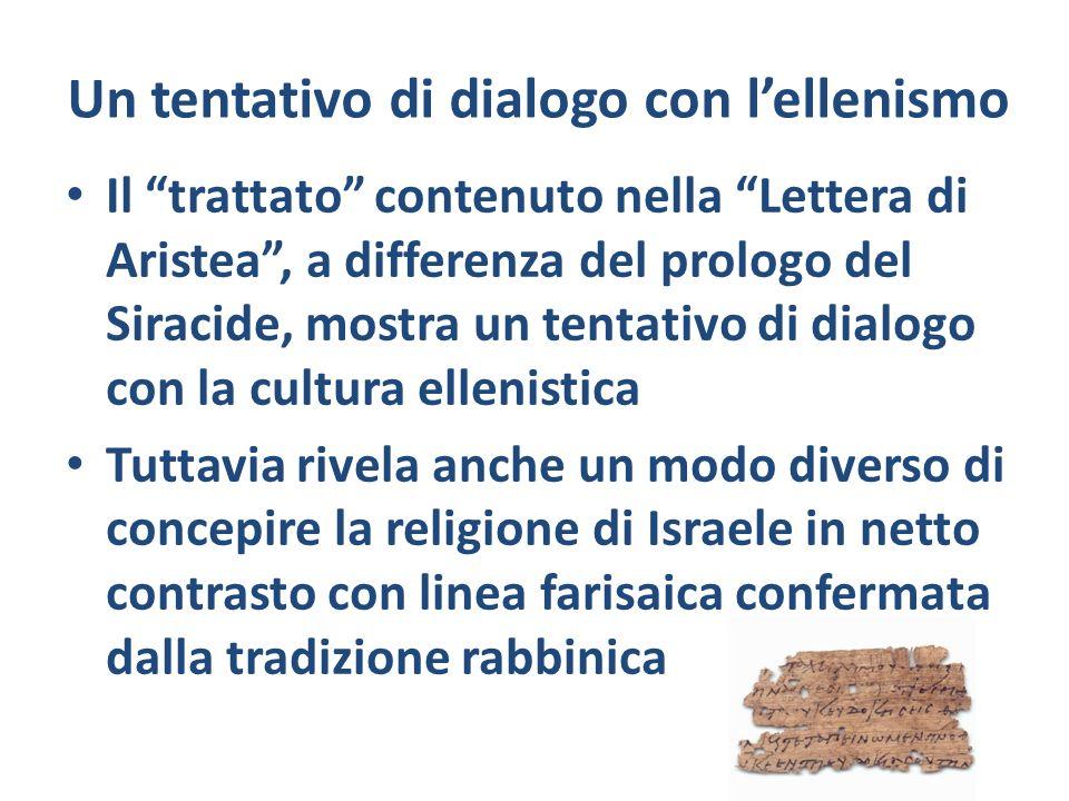 Un tentativo di dialogo con l'ellenismo