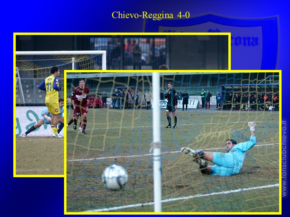 Chievo-Reggina 4-0