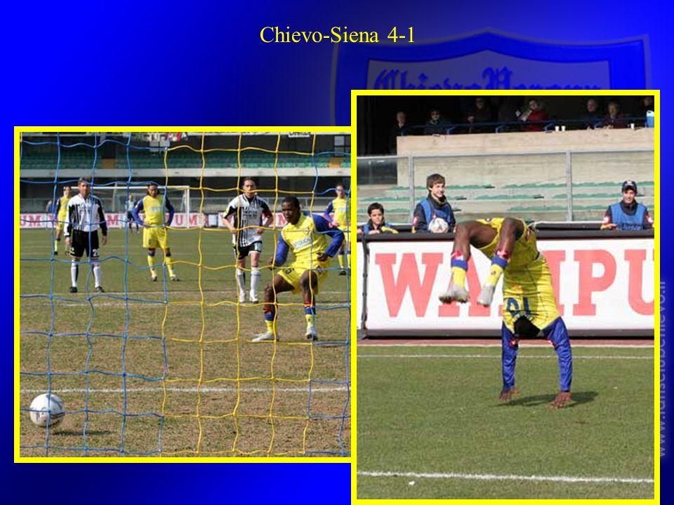 Chievo-Siena 4-1