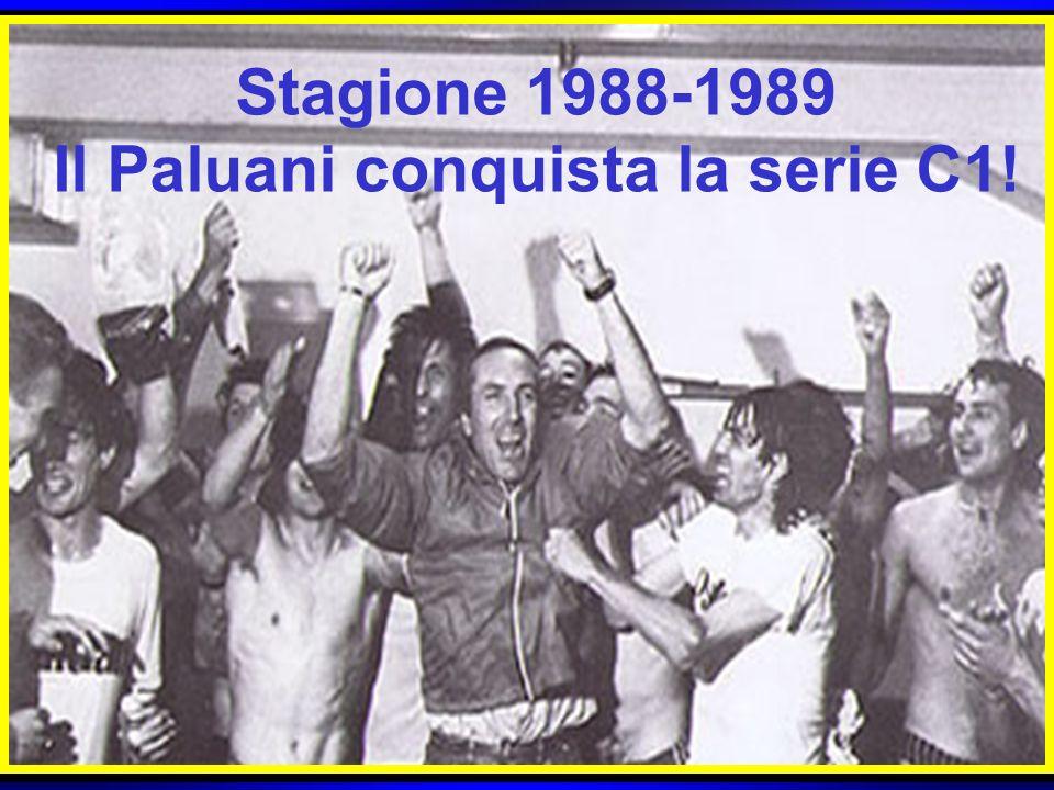 Il Paluani conquista la serie C1!