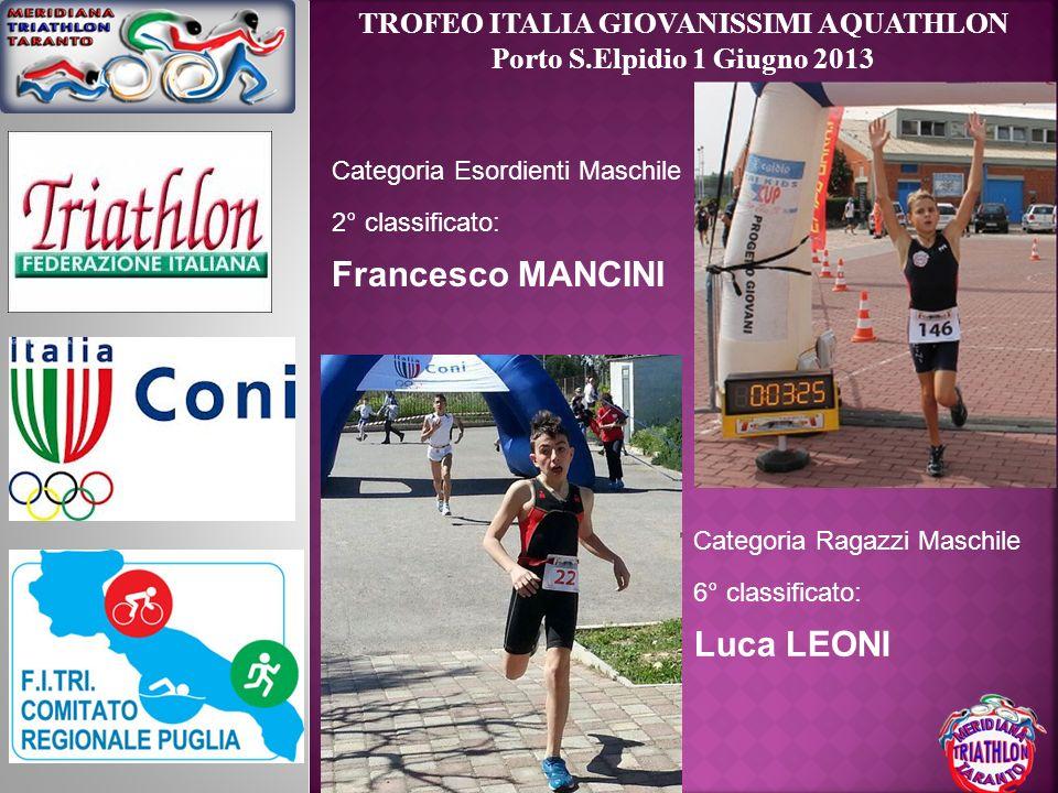 TROFEO ITALIA GIOVANISSIMI AQUATHLON