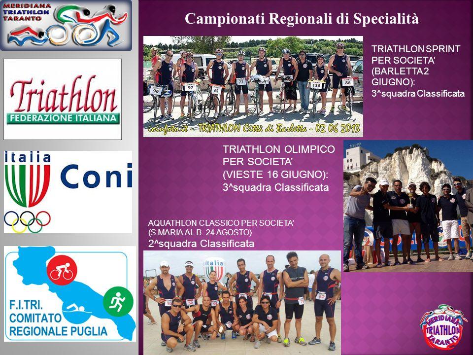 Campionati Regionali di Specialità