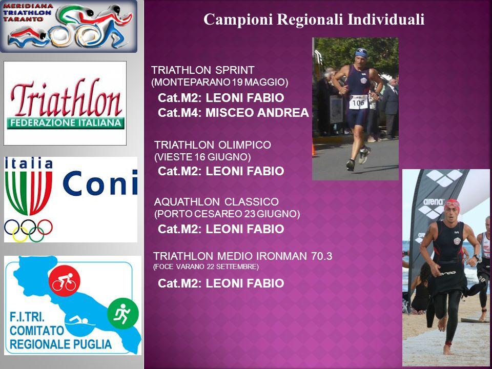 Campioni Regionali Individuali