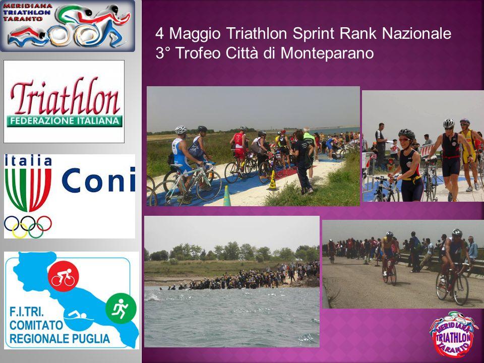 4 Maggio Triathlon Sprint Rank Nazionale
