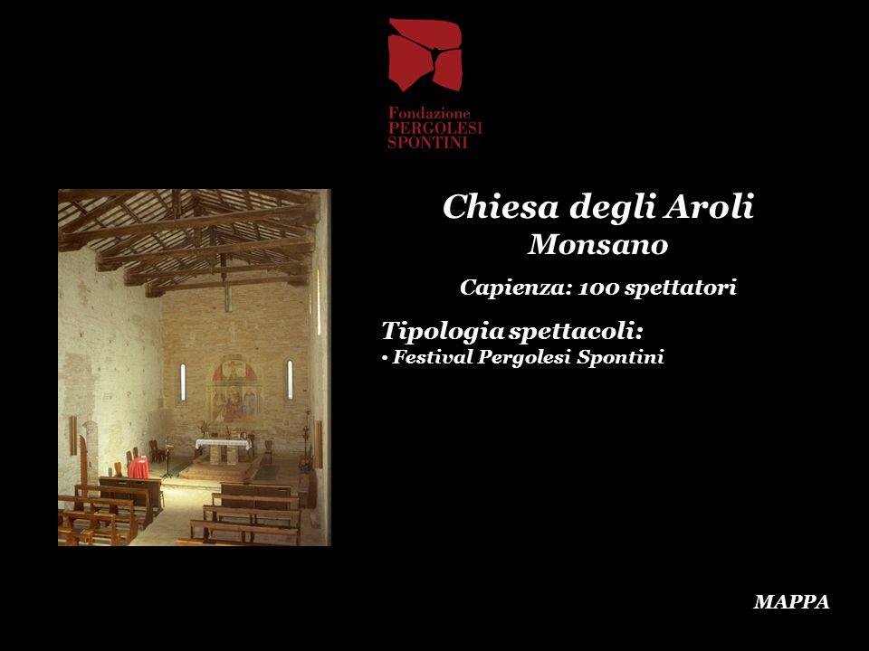 Chiesa degli Aroli Monsano