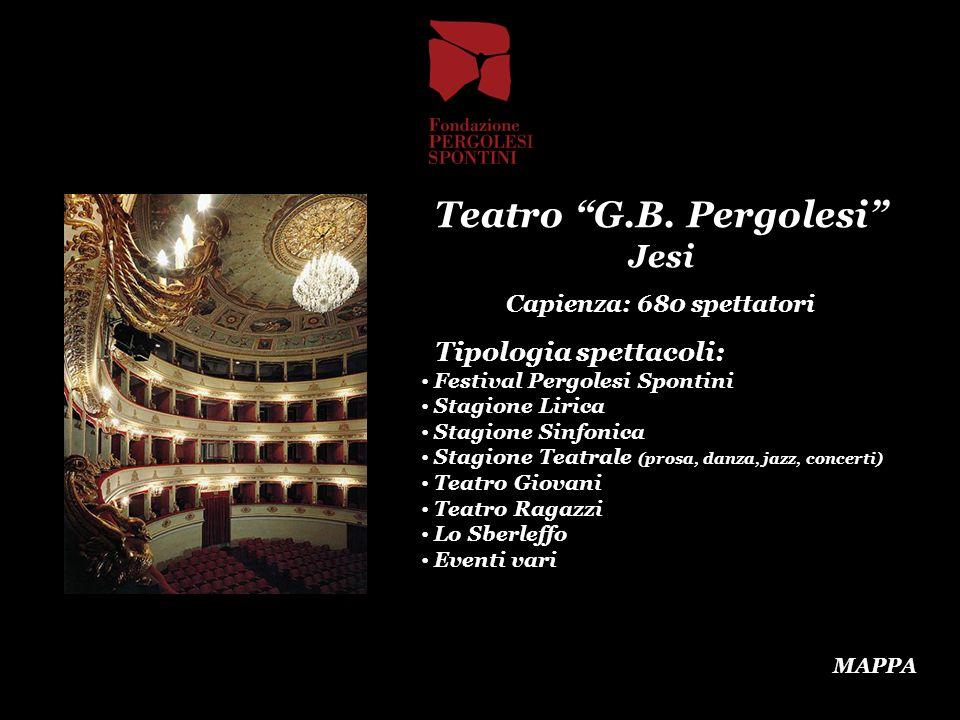 Teatro G.B. Pergolesi Jesi