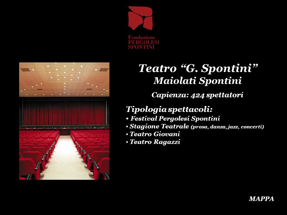 Teatro G. Spontini Maiolati Spontini