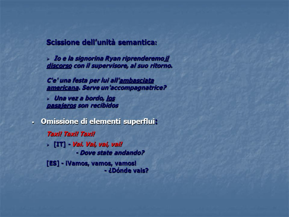 Scissione dell'unità semantica: