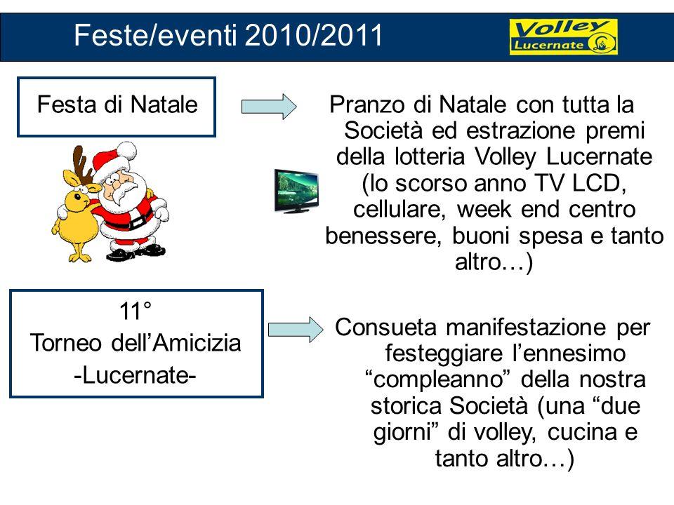 Feste/eventi 2010/2011 Festa di Natale