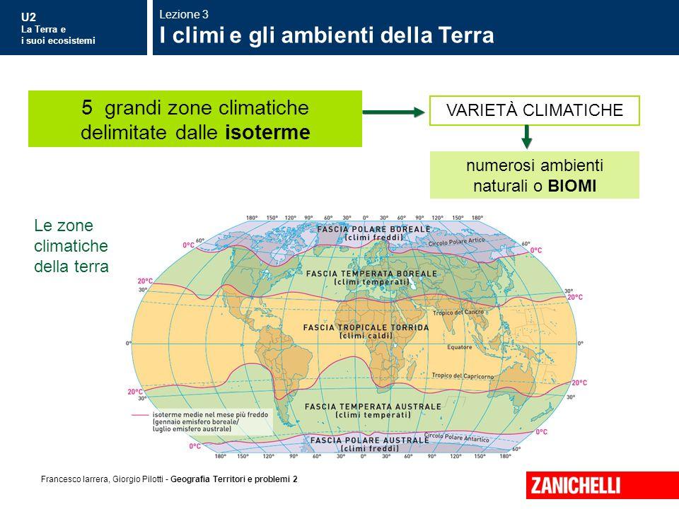 I climi e gli ambienti della Terra