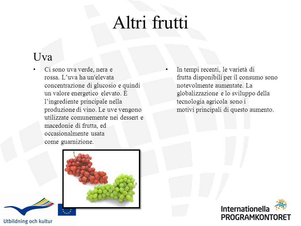 Altri frutti Uva.