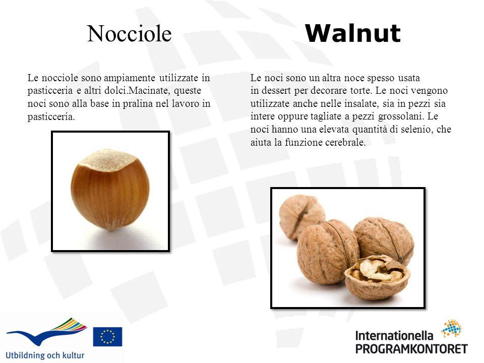Nocciole Walnut.
