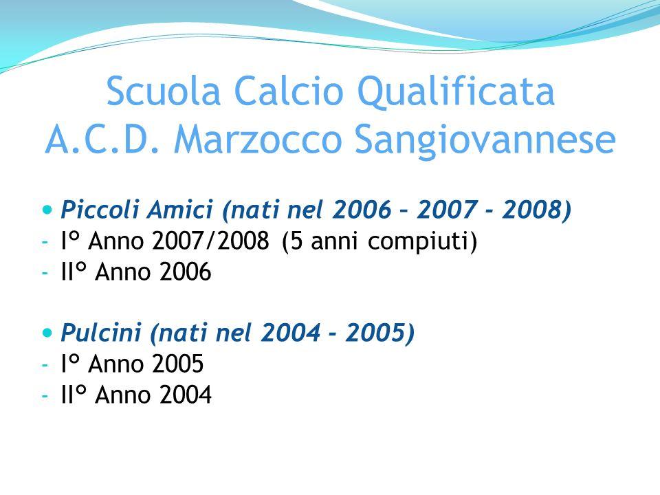 Scuola Calcio Qualificata A.C.D. Marzocco Sangiovannese