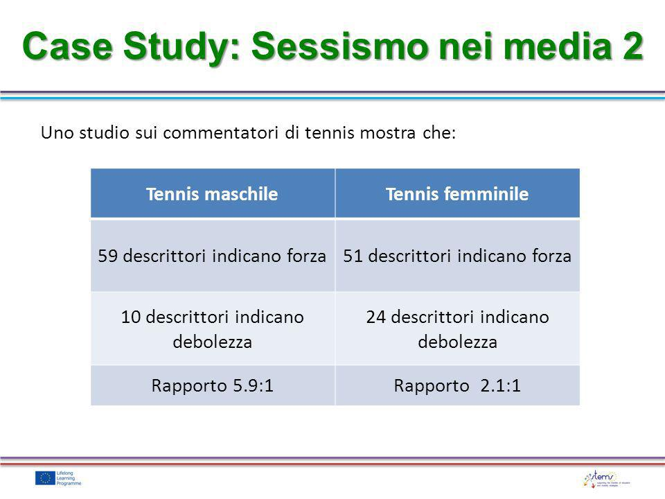 Case Study: Sessismo nei media 2