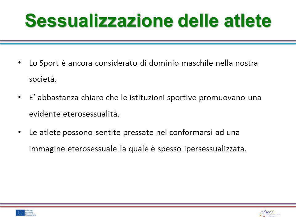 Sessualizzazione delle atlete