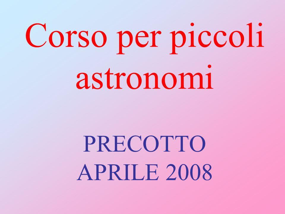 Corso per piccoli astronomi