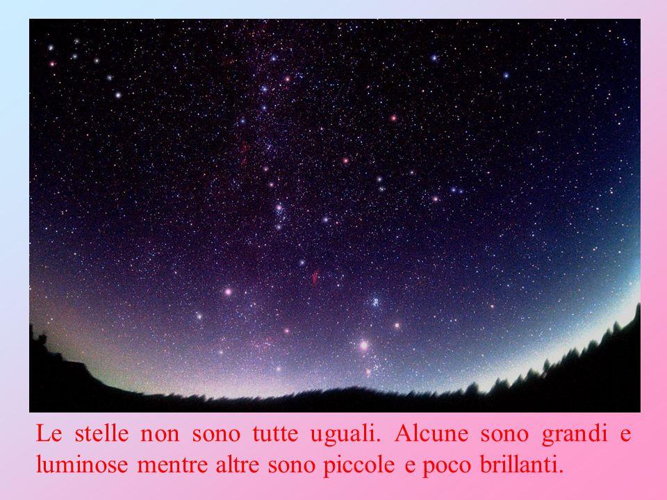 Le stelle non sono tutte uguali