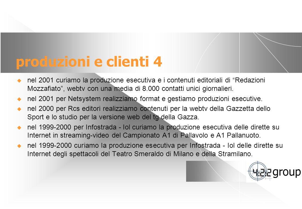 produzioni e clienti 4
