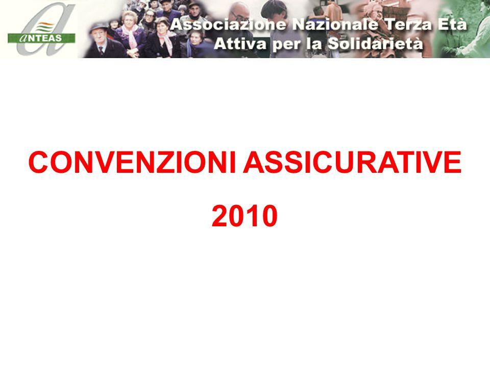 CONVENZIONI ASSICURATIVE